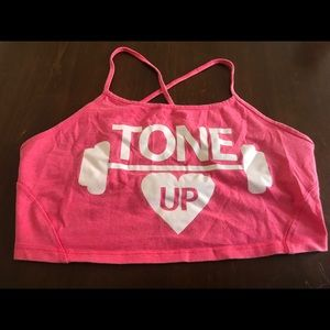 """Tone up"" top (Bershka)"